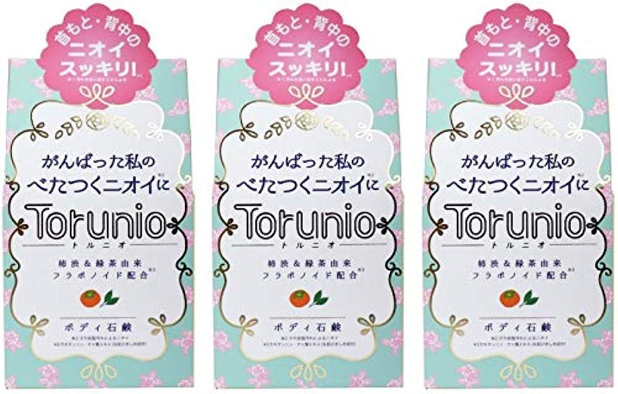 水平角度経済【まとめ買い】Torunio(トルニオ)石鹸 100g【×3個】