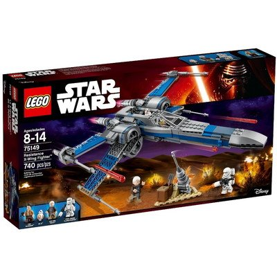 Star Wars(スターウォーズ) LEGO Star Wars? Resistance X-Wing Fighter? 75149 おもちゃ One Size【並行輸入】