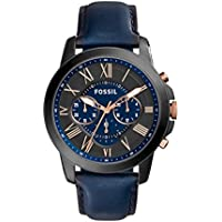 Fossil Men's Grant Analog Analog-quartz Blue Watch, (FS5061)