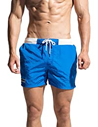 Ricky&Bens メンズショートパンツビーチウエアファッションワークアウトショートショート