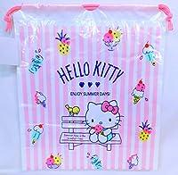 サンリオ・キティ PE巾着 M 9085