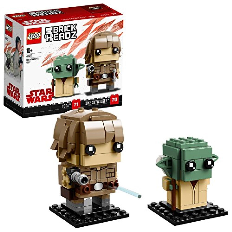 レゴ(LEGO) ブリックヘッズ ルーク?スカイウォーカー&ヨーダ 41627