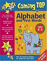 Coming Top Alphabet And First Words, Ages 4-5