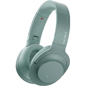 ソニー SONY ワイヤレスノイズキャンセリングヘッドホン h.ear on 2 Wireless NC WH-H900N : Bluetooth/ハイレゾ対応 最大28時間連続再生 密閉型 マイク付き 2017年モデル ホライズングリーン WH-H900N G