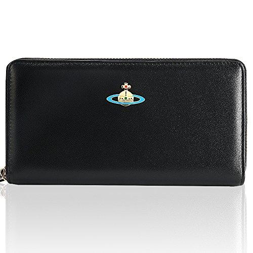 [해외]Vivienne Westwood 비비안 웨스트 우드 지갑 여성 브랜드 인기 [병행 수입품] (55317~ BLACK)/Vivienne Westwood Vivienne Westwood Wallet Ladies Brand Popularity [Parallel import goods] (55317~ BLACK)