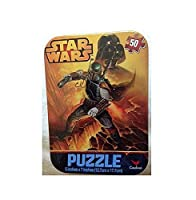 Star Wars Mini Travel Puzzle in Collectible Tin - 50 Pieces
