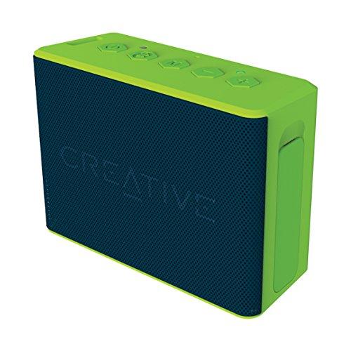 CREATIVE MEDIA Creative MUVO 2c Bluetooth ポータブルスピーカー 防水/防塵/バスラジエーター搭載 グリーン SP-MV2C-GR