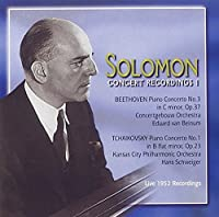 Solomon Concert Recordings 1: Beethoven Piano Concerto no.3 in C minor, Op. 37 & Tchaikovsky Piano Concero No. 1 in B flat minor, Op. 23 (2003-05-03)