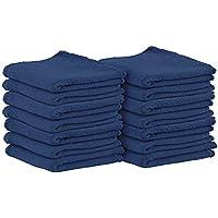 Utopia Towels - 洗車用クロス?タオル (25パック、青, 33 x 33 cm)- 純粋な綿