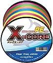 KUROSAWA PEライン X-CORE (5色マルチカラー 300m(8編), 2号(28lb/12.7kg))