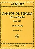 ALBENIZ - Cantos de Espa Op.232 para Piano (Philipp)