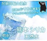 シリカ水 ミネラルウォーター 送料無料 阿蘇外輪山天然優水 熊本シリカ天然水 500ml 24本 シリカ 水 美容 健康
