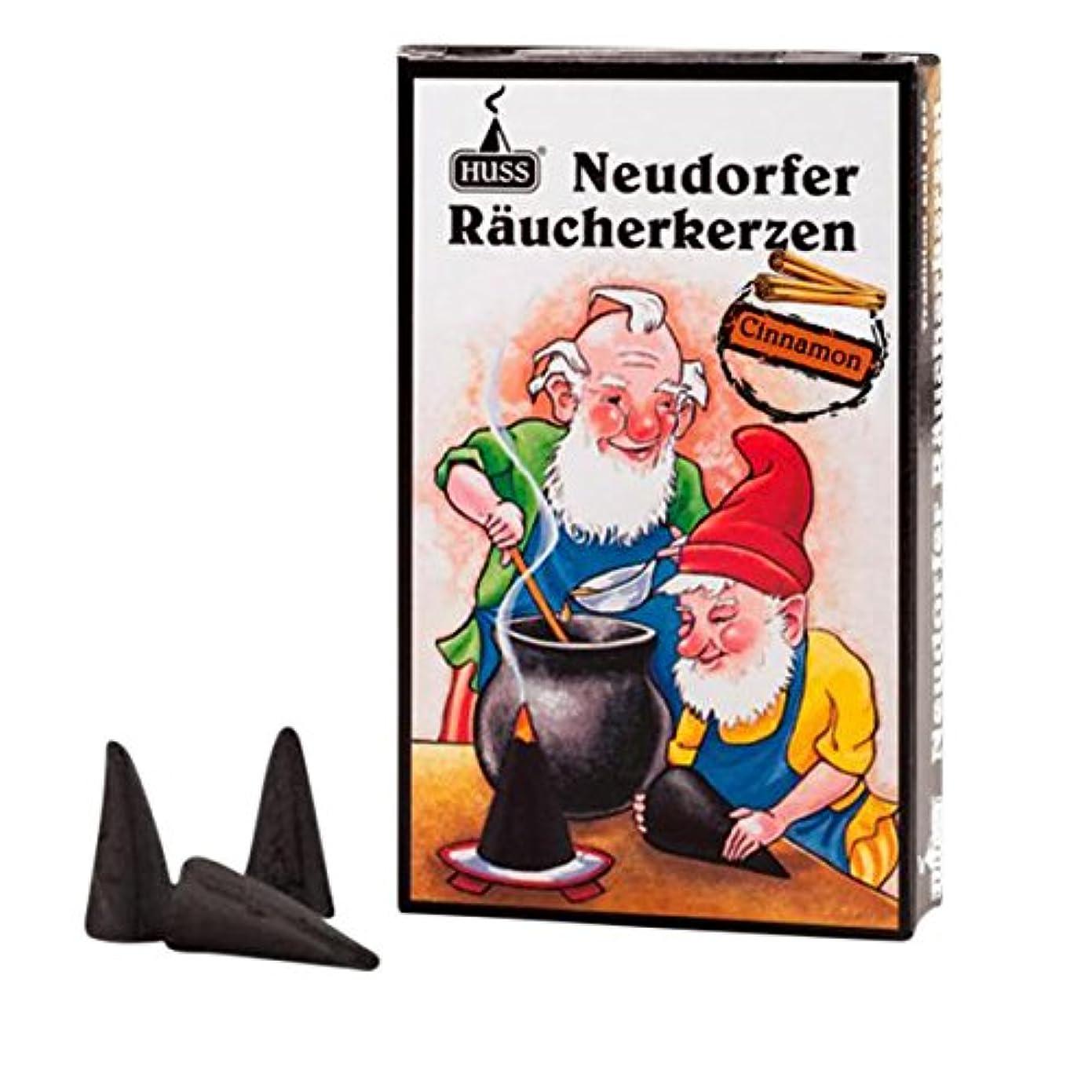 シロナガスクジラ修正する社交的Huss Incense Cones for German Incense Smoker – Cinnamon – 環境にやさしいドイツのハンドメイド