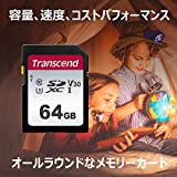 【Amazon.co.jp限定】Transcend SDカード 64GB UHS-I Class10 (最大転送速度95MB/s) TS64GSDC300S-E