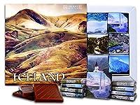"""DA CHOCOLATE キャンディ スーベニア """"アイスランド""""ICELAND チョコレートセット 5×5一箱 (Hills)"""
