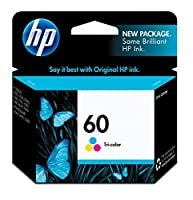 HP 60 Tri-color Original Ink Cartridge (CC643WN) 【Creative Arts】 [並行輸入品]