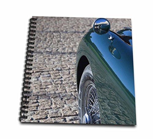 """Danita Delimont–Classic Cars–スペイン、テレジア、クラシック車1950年代ジャガーxk-150s–eu27wbi0504–Walter Bibikow–Drawing Book 4 by 4"""" db_139326_3"""