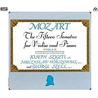 モーツァルト : ヴァイオリン・ソナタ集 II (Mozart : The Fifteen Sonatas for Violin and Piano Vol.II / Joseph Szigeti (violin) | Mieczyslaw Horszowski (piano) | George Szell (piano)) [2XRCD]