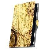 タブレット 手帳型 タブレットケース タブレットカバー 全機種対応有り カバー レザー ケース 手帳タイプ フリップ ダイアリー 二つ折り 革 地図 レトロ 写真 002686 Fire HDX Amazon アマゾン Kindle Fire キンドルファ