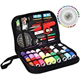 Sewing KIT Premium Repair Set, XL Sewing Supplies for DIY,Easy to USE Portable Mini Mending Button Travel Sew Kits, Sowing Stuff for Adults & Beginners, Giftable