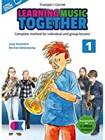 Learning Music Together: Vol. 1 - Trumpet/Cornet (Book/Online Audio). For トランペット, コルネット
