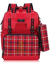 女の子のためのペンシルケース、子供の学校のブックバック、学生のショルダーバッグ、小学校のバッグと学校のバックパック