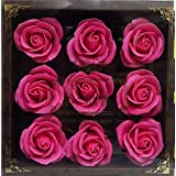 バスフレグランス バスフラワー ミニローズフレグランス(L)ローズピンク お花の形の入浴剤