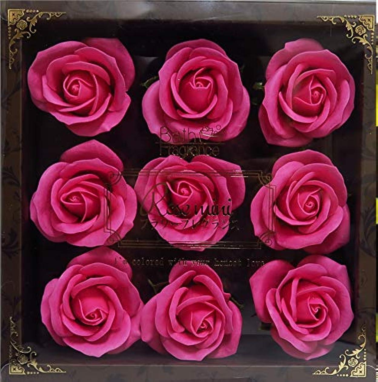 モーターシェルター船員バスフレグランス バスフラワー ミニローズフレグランス(L)ローズピンク お花の形の入浴剤