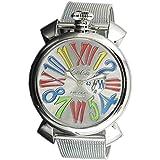 [ガガ ミラノ] GAGA MILANO 腕時計 MANUALE SLIM 46MM ACCIAIO Ref.5080.1 シルバー [並行輸入品]