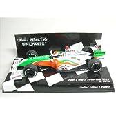 【MINICHAMPS/ミニチャンプス】1/43 フォースインディア F1 ショーカー 2009 A.スーティル