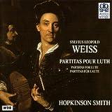 シルヴィウス・レオポルト・ヴァイス(1686-1750);リュートのためのパルティータ集 (Sylvius Leopold Weiss: Partitas pour Luth)