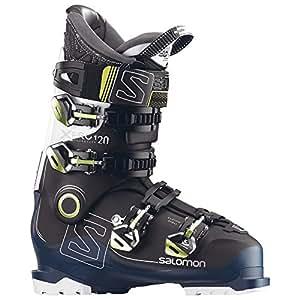 SALOMON(サロモン) スキーブーツ X PRO 120 (エックス プロ 120) 2016-17 モデル 25.5cm ブラック/ぺトロールブルー/ホワイト