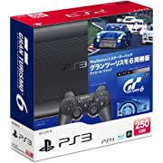PlayStation 3 スターターパック グランツーリスモ6 同梱版 チャコール・ブラック [CEJH-10026] (プレイステーション3)