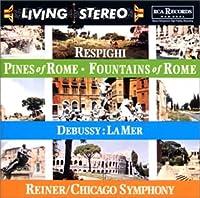 レスピーギ:ローマの松&ローマの噴水,ドビュッシー:海