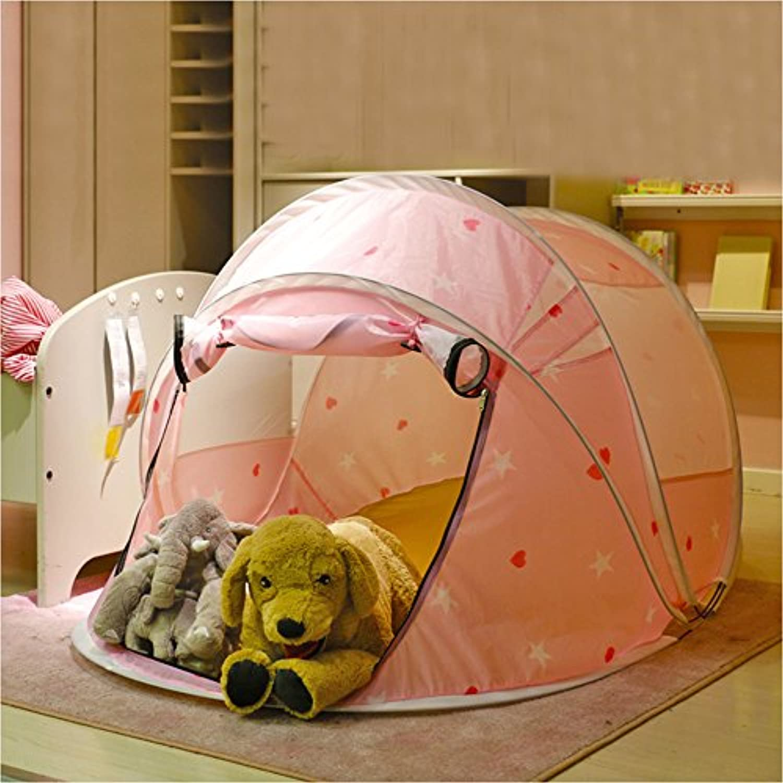 T -子供のゲームテント折りたたみ式小さな漫画パターンLoveパターン子Game Houseおもちゃテント( 1つのみテント)