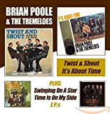 TWIST AND SHOUT / ITS ABOUT - PLUS SWINGING ON A STAR & TIME IS ON MY SIDE E.P.S