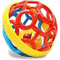 ベビーソフトゴムボールFitness Ball幼児教育パズルボールベルランダム色by KingSD