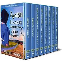 Amish Hearts Collection: 8 Book Box Set