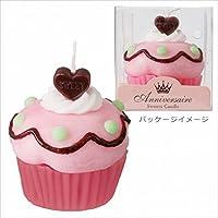 kameyama candle カップケーキキャンドル 「 チェリードット 」