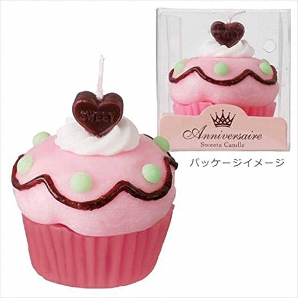 フォージ面積ファンシーカメヤマキャンドル( kameyama candle ) カップケーキキャンドル 「 チェリードット 」