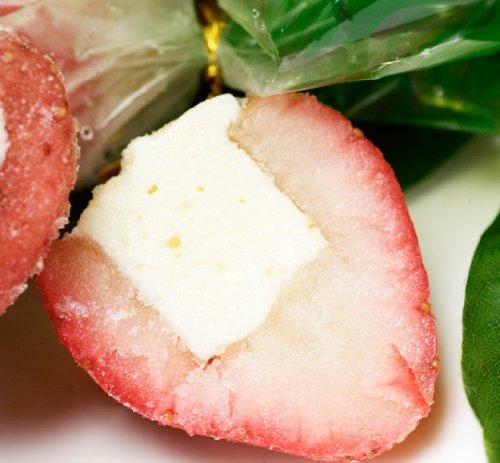 いちご練乳アイス 「まるごと苺アイス」 (30粒入×3個) 甘酸っぱいイチゴと甘い練乳のハーモニー SD_K-008_3
