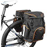 Ibera (イベラ)自転車用パニアバッグセット・クリップ式クイックリリース(ペア)・リアバッグ・サイドバッグ・IB-BA4-PAIR