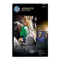 HPアドバンスフォト用紙光沢(100シート、4x 6インチwith Tab)