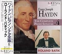 Complete Piano Sonatas 4 by ROLAND BATIK (2001-01-30)
