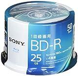 ソニー(SONY) ビデオ用ブルーレイディスク 50BNR1VJPP4 (BD-R 1層:4倍速 50枚パック) 画像