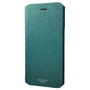 "GRAMAS COLORS Leather Case ""EURO Passione"" グラマスカラーズ 手帳型レザーケース CLC276P for iPhone 7 Plus(グリーン)"