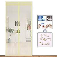 完全なフレームの velcro ミュート磁気網戸,画面ドア メッシュ ホーム ベッドルーム頑丈メッシュ スクリーン夏のスナップは網戸を自動的にシャット ダウン-B 70x200cm(28x79inch)