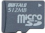 BUFFALO RMSD-512M microSD (+SD/miniSD変換アダプタ)