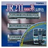 TOMIX Nゲージ 92517 211 3000系近郊電車 (長野色) セット