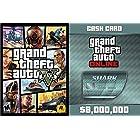 Grand Theft Auto V (日本語版) + Megalodon Shark Cash Card (GTAマネー $8,000,000) Pack [オンラインコード]